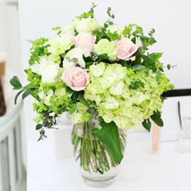 [전국배송/ fourseasons flower /계절꽃사용] 러블리 핑크 부케 꽃배달하시려면 이미지를 클릭해주세요