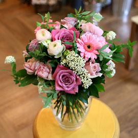 [ fourseasons flower /계절꽃사용] fourseasons NOPastel pink bouquet 꽃배달하시려면 이미지를 클릭해주세요