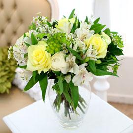 [ fourseasons flower /계절꽃사용] fourseasons NO Pastel yellow bouquet 꽃배달하시려면 이미지를 클릭해주세요