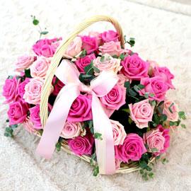 장미의 맹세 - Pink rose 꽃배달하시려면 이미지를 클릭해주세요