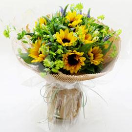 sunflower - Sunflower Bouquet 꽃배달하시려면 이미지를 클릭해주세요