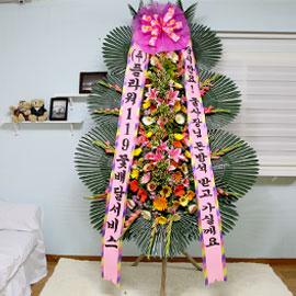 축하화환-잠시만요! 울 사장님 돈방석 받고 가실게요 꽃배달하시려면 이미지를 클릭해주세요