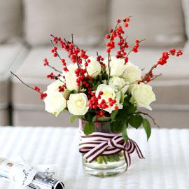 French style - Paris noel [계절소재 없을 시 소재 변경됨] 꽃배달하시려면 이미지를 클릭해주세요