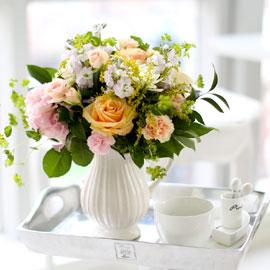 French style Orange pastel **[화기변경] 꽃배달하시려면 이미지를 클릭해주세요