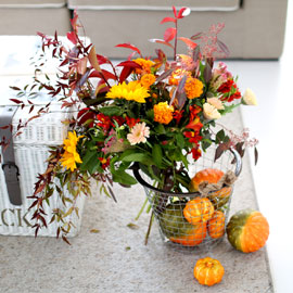 French style - Autumn leaves 꽃배달하시려면 이미지를 클릭해주세요
