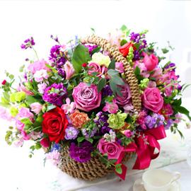 Pretty Basket Floral 꽃배달하시려면 이미지를 클릭해주세요