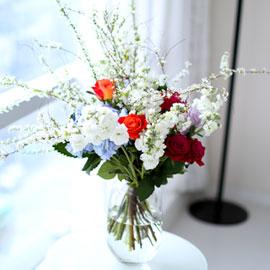 I wish you love(화기 품절시 변경될 수 있음) 꽃배달하시려면 이미지를 클릭해주세요