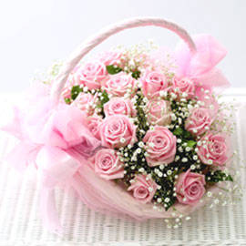 Rose Day - lovely lovely(바구니 품절시 변경될 수 있음) 꽃배달하시려면 이미지를 클릭해주세요