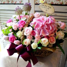 꽃! 밭에서♬ - 여기 보세요 꽃배달하시려면 이미지를 클릭해주세요
