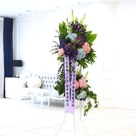 결혼식을 빛내주는 품격있는 오브제 축하화환 - 서로 존중하고 더 많이 사랑하는 부부가 되기 바랍니다 꽃배달하시려면 이미지를 클릭해주세요