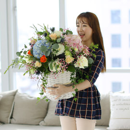 Spring&Sweet  - pop spring flower 꽃배달하시려면 이미지를 클릭해주세요