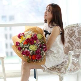 spring&vivid - with mist 꽃배달하시려면 이미지를 클릭해주세요