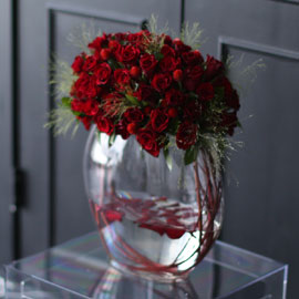 Stunning Flower Ideas - Elegance dress up 꽃배달하시려면 이미지를 클릭해주세요