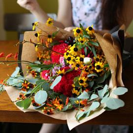 Big Size Bouquet - fall moment 꽃배달하시려면 이미지를 클릭해주세요