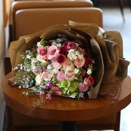Big Size Bouquet - Pink Perfume 꽃배달하시려면 이미지를 클릭해주세요