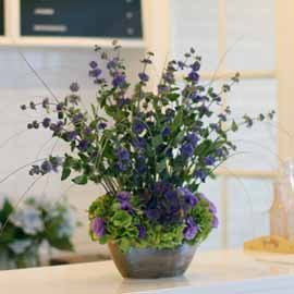 14 Fall  Flower Arrangements Blooming With - The calamint 꽃배달하시려면 이미지를 클릭해주세요