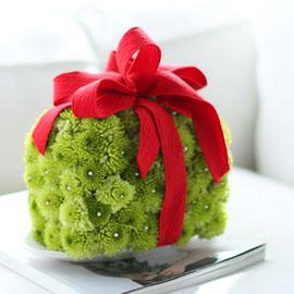 2016 크리스마스(christmas)- Green christmas gift 꽃배달하시려면 이미지를 클릭해주세요