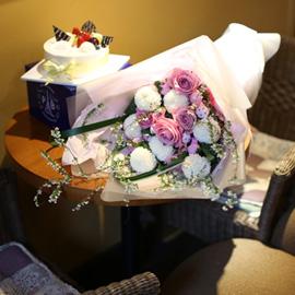 Flowers & Cake - 정말 축하해,정말 사랑해 꽃배달하시려면 이미지를 클릭해주세요