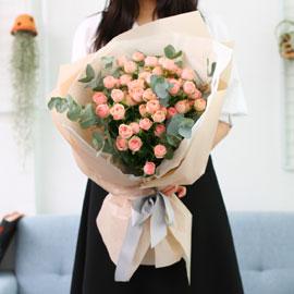 Spring loves Baby pink 꽃배달하시려면 이미지를 클릭해주세요