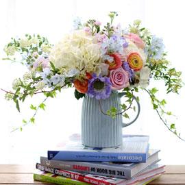 Spring loves YOU (* 화기 핑크색으로 변경 될수 있음) 꽃배달하시려면 이미지를 클릭해주세요