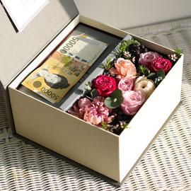 [서울수도권배송]Thanks Mom & Dad Flowers and more (권종 및 금액은 주문후 전화로 신청해 주세요) 꽃배달하시려면 이미지를 클릭해주세요