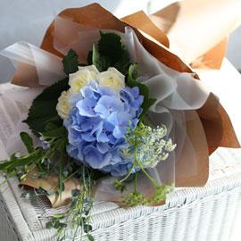 [서울무료배송, 이외지역 추가배송비] Blue and white 꽃배달하시려면 이미지를 클릭해주세요