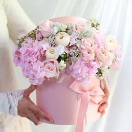 [서울 수도권배송]Chic feminine Pink lady