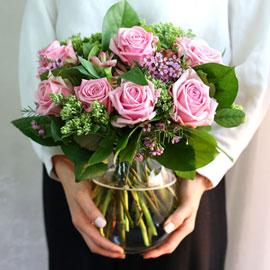 '(必)환경'시대 오아시스없는 플라워화병 - pinkroom 꽃배달하시려면 이미지를 클릭해주세요