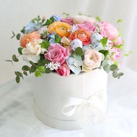 [서울,수도권]  화이트데이 - Sweet love(사탕은제외됨) 꽃배달하시려면 이미지를 클릭해주세요