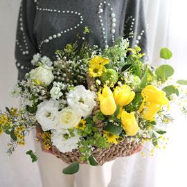 봄 꽃바구니 - 봄의 향기 꽃배달하시려면 이미지를 클릭해주세요