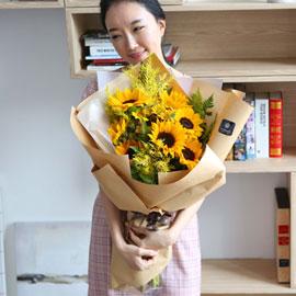 전국으로 꽃 보내세요 - 굿모닝 해바라기 꽃배달하시려면 이미지를 클릭해주세요
