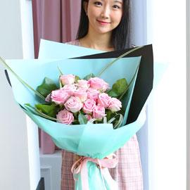 전국으로 꽃 보내세요 -장미꽃다발 Roses are pink 꽃배달하시려면 이미지를 클릭해주세요