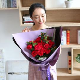 전국으로 꽃 보내세요 -장미꽃다발 Roses are red 꽃배달하시려면 이미지를 클릭해주세요