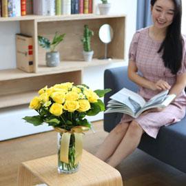 전국으로 꽃 보내세요 -장미와 화병 매일매일 봄 꽃배달하시려면 이미지를 클릭해주세요