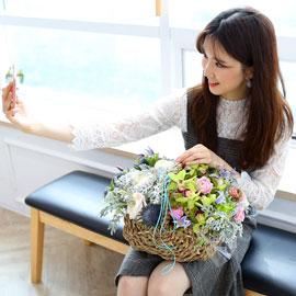 [서울 수도권배송]Spring & sweet  Spring is here 꽃배달하시려면 이미지를 클릭해주세요