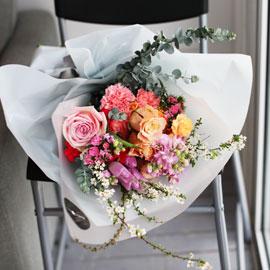 Fresh spring flower rainbow sherbet 꽃배달하시려면 이미지를 클릭해주세요