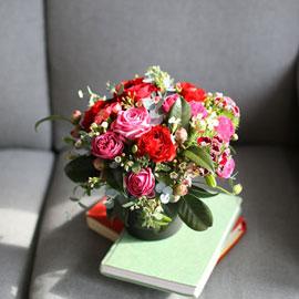 elegant flower base - 꽃으로 사랑을 전합니다. 꽃배달하시려면 이미지를 클릭해주세요