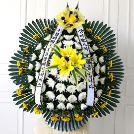 영정사진옆 제단바구니(신형) 꽃배달하시려면 이미지를 클릭해주세요
