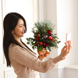 Yes it is  A merry little christmas 꽃배달하시려면 이미지를 클릭해주세요