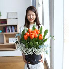 [서울,수도권배송] spring & sweet  튤립