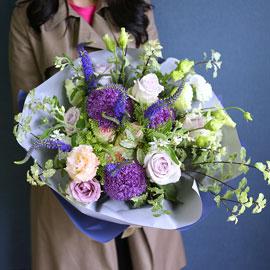 Blue violet 꽃배달하시려면 이미지를 클릭해주세요