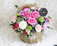 예쁜 꽃바구니베스트풍성하고 정성스러운 꽃바구니가 베스트