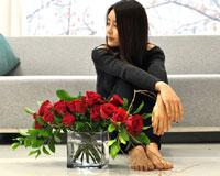 비오는 수요일엔 빨간장미를사랑한다는 말 보다 더 진한 한 송이 빨간 장미를 보내보세요