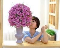 우리 함께 한 100일함께 했던 100일의 소중함을 장미꽃에 담아 선물하세요