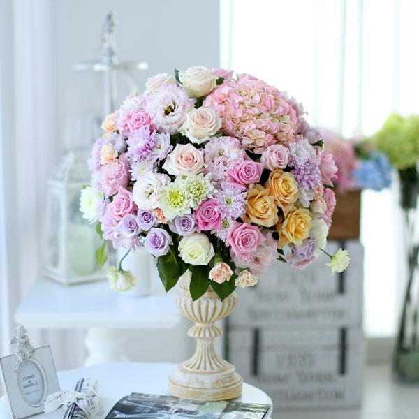 French styleCrystal roses