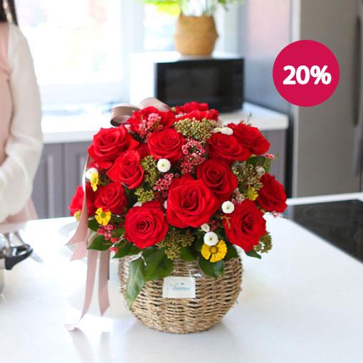 사랑스런 그대에게아름다운 꽃으로 사랑의 마음을 전하세요~