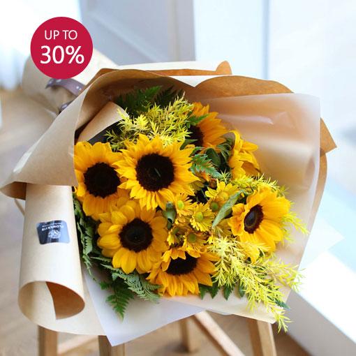 당신만을 사랑해여름의 꽃 해바라기