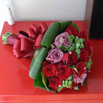 Made in 20 flowers - Red rose bouquet