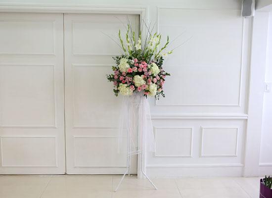 [수도권배송] 플라워119 디자인화환 - My wedding