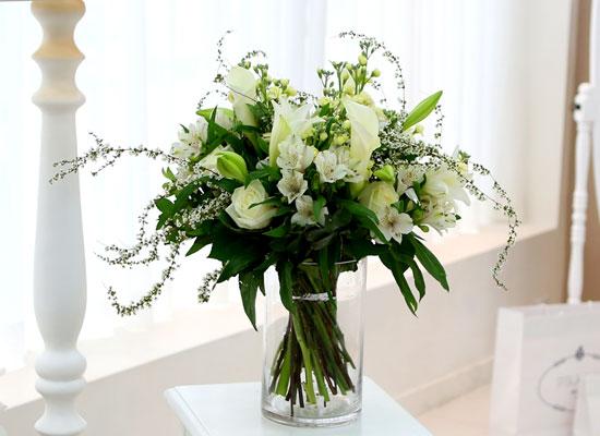[ fourseasons flower /계절꽃사용] fourseasons NO Mixed white bouquet